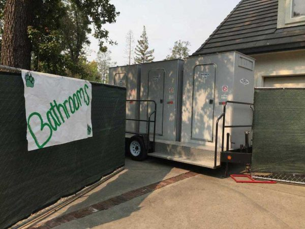 Porta Potty Rentals - 3 Stall VIP portable restroom trailer perfect for Events San Francisco Bay Area | Sacramento Valley