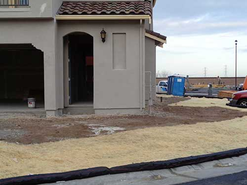 Coconut Fiber Mat at Construction Site San Francisco Bay Area | Sacramento Valley