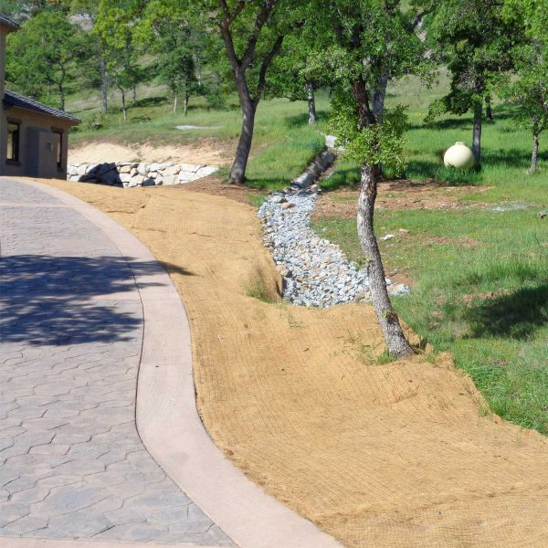 Coconut Fiber Mat Driveway San Francisco Bay Area | Sacramento Valley