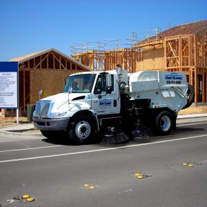 Construction Site Street Sweeping San Francisco Bay Area | Sacramento Valley
