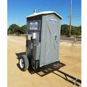 Trailer Mounted Portable Bathroom Rentals San Francisco Bay Area | Sacramento Valley