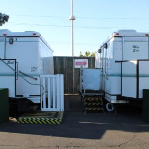 trailer rentals executive restroom San Francisco Bay Area | Sacramento Valley